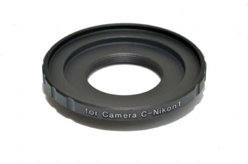 16mm Movie C Mount Lens to  Nikon 1 Mount Adapter J1 V1